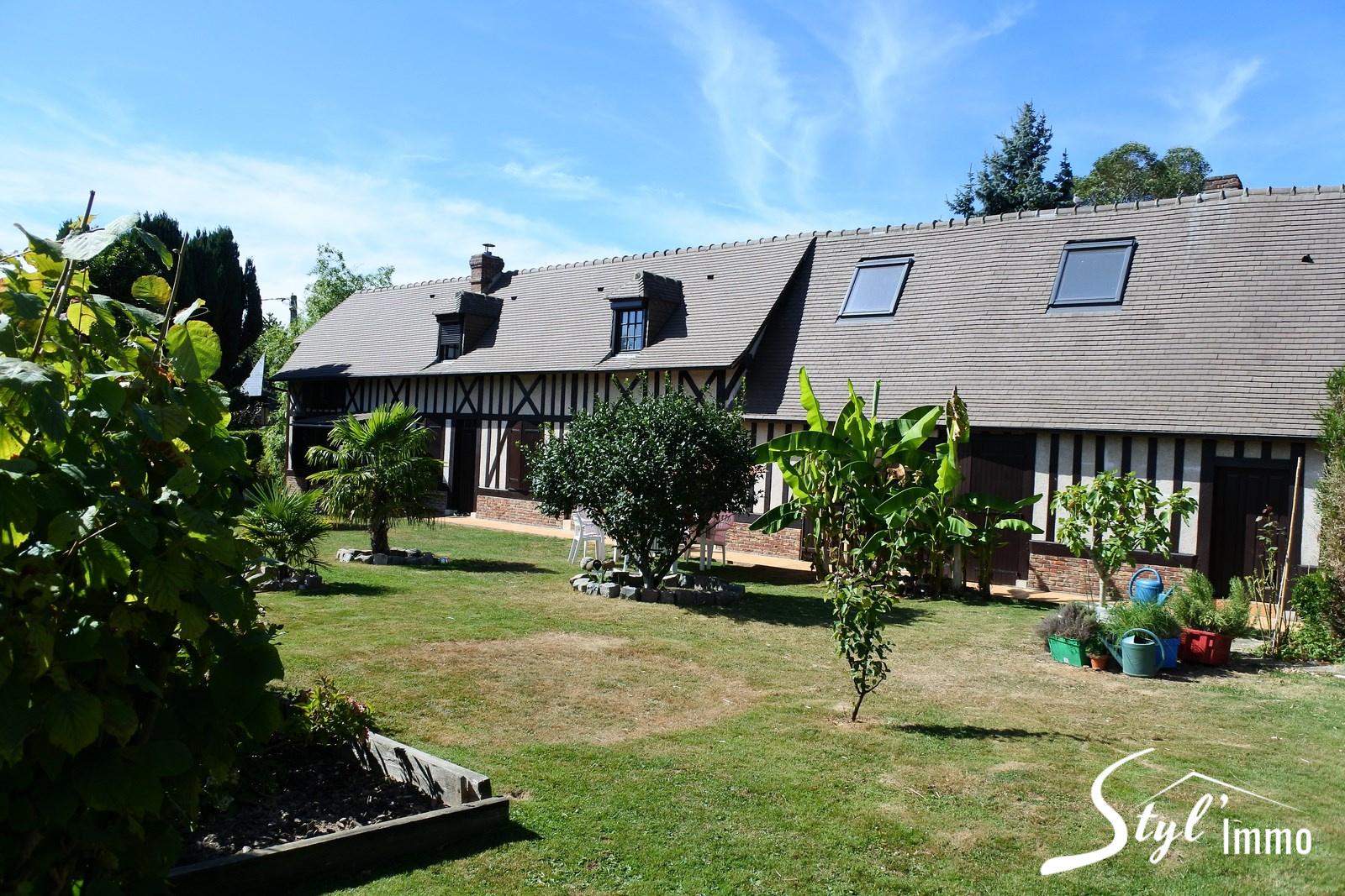 Annonce vente maison le neubourg 27110 160 m 243 000 for Piscine le neubourg