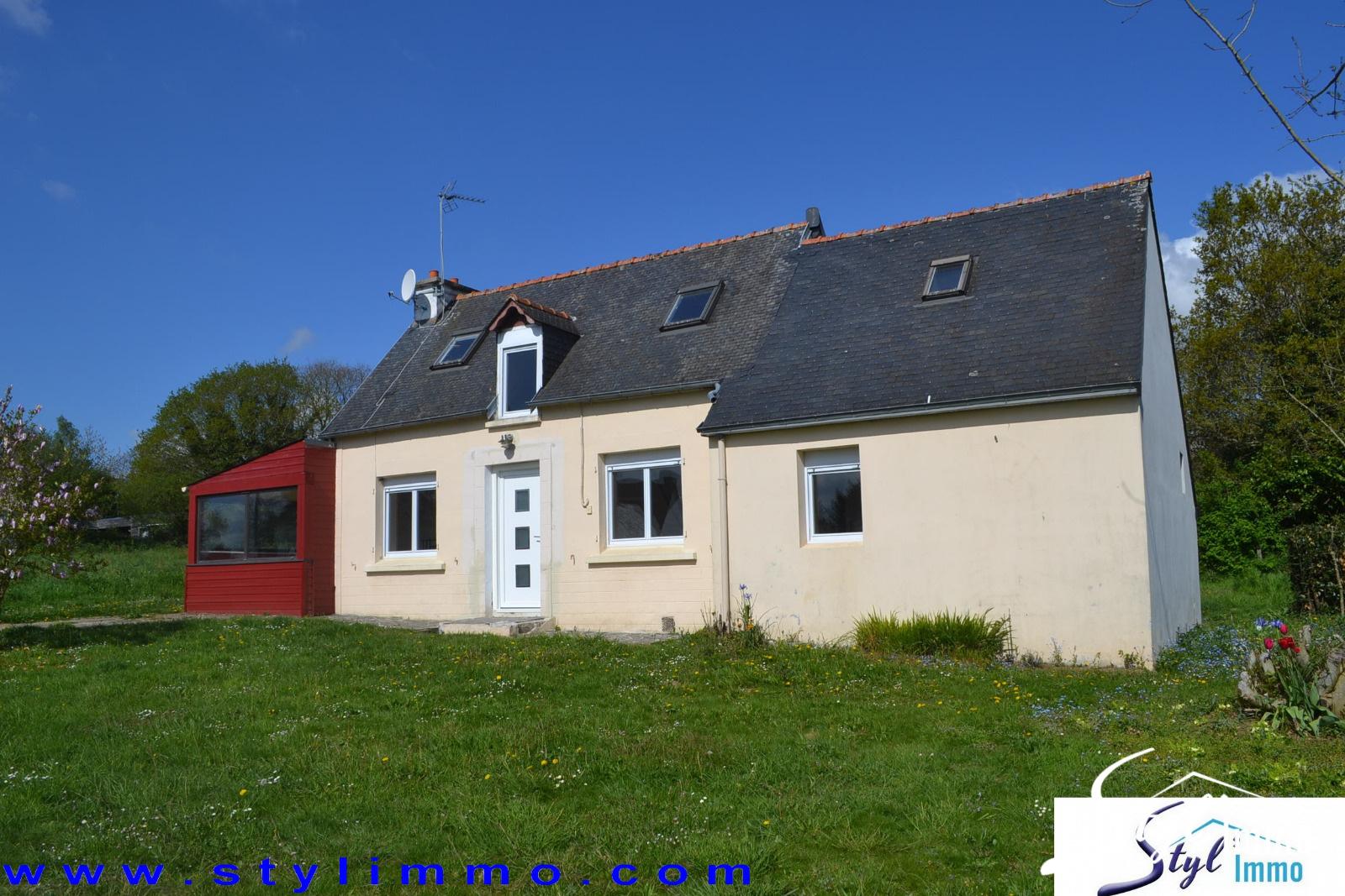 Annonce vente maison landeleau 29530 103 m 84 000 for Location maison avec jardin 34