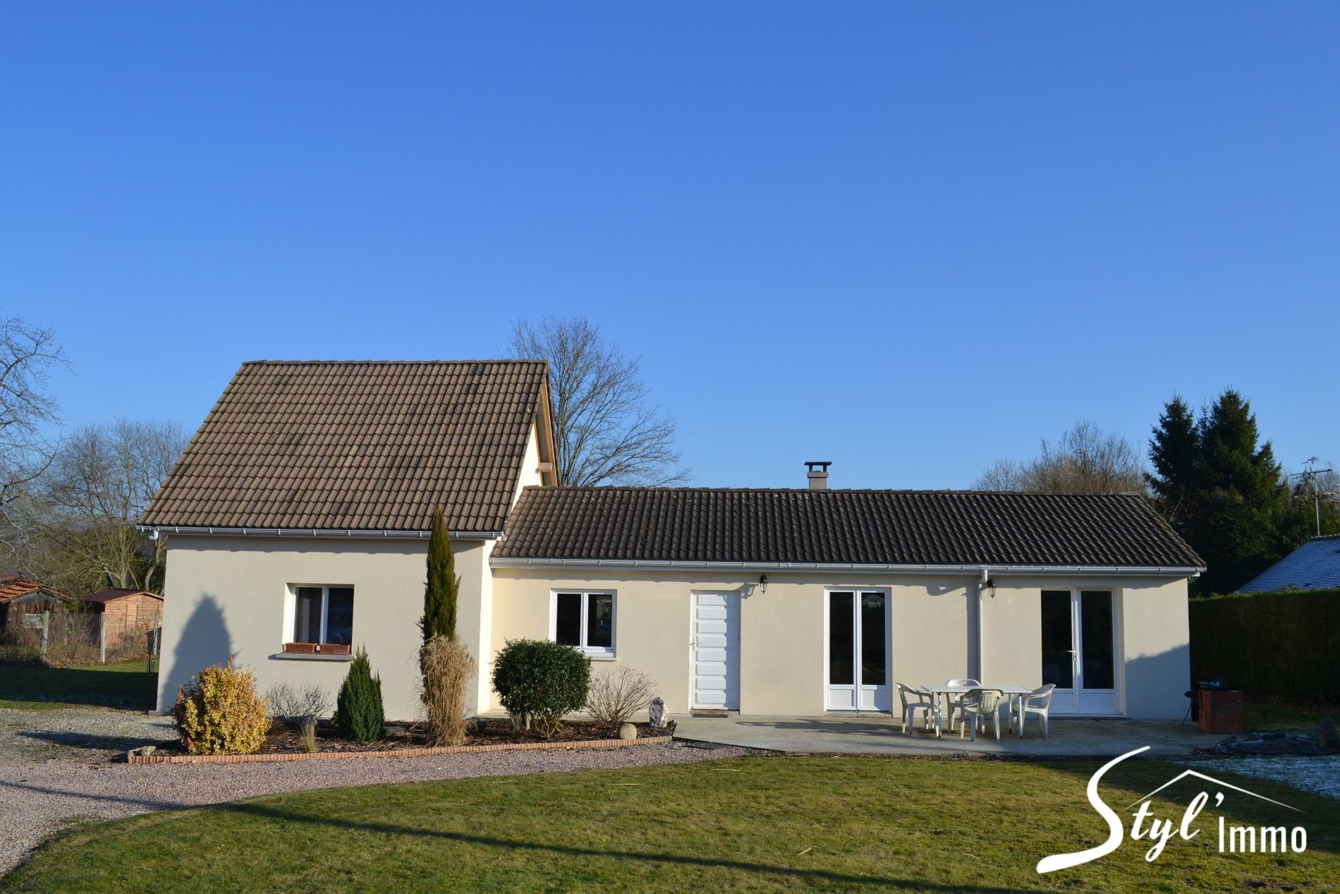 Annonce vente maison brionne 27800 83 m 134 999 for Vente maison a