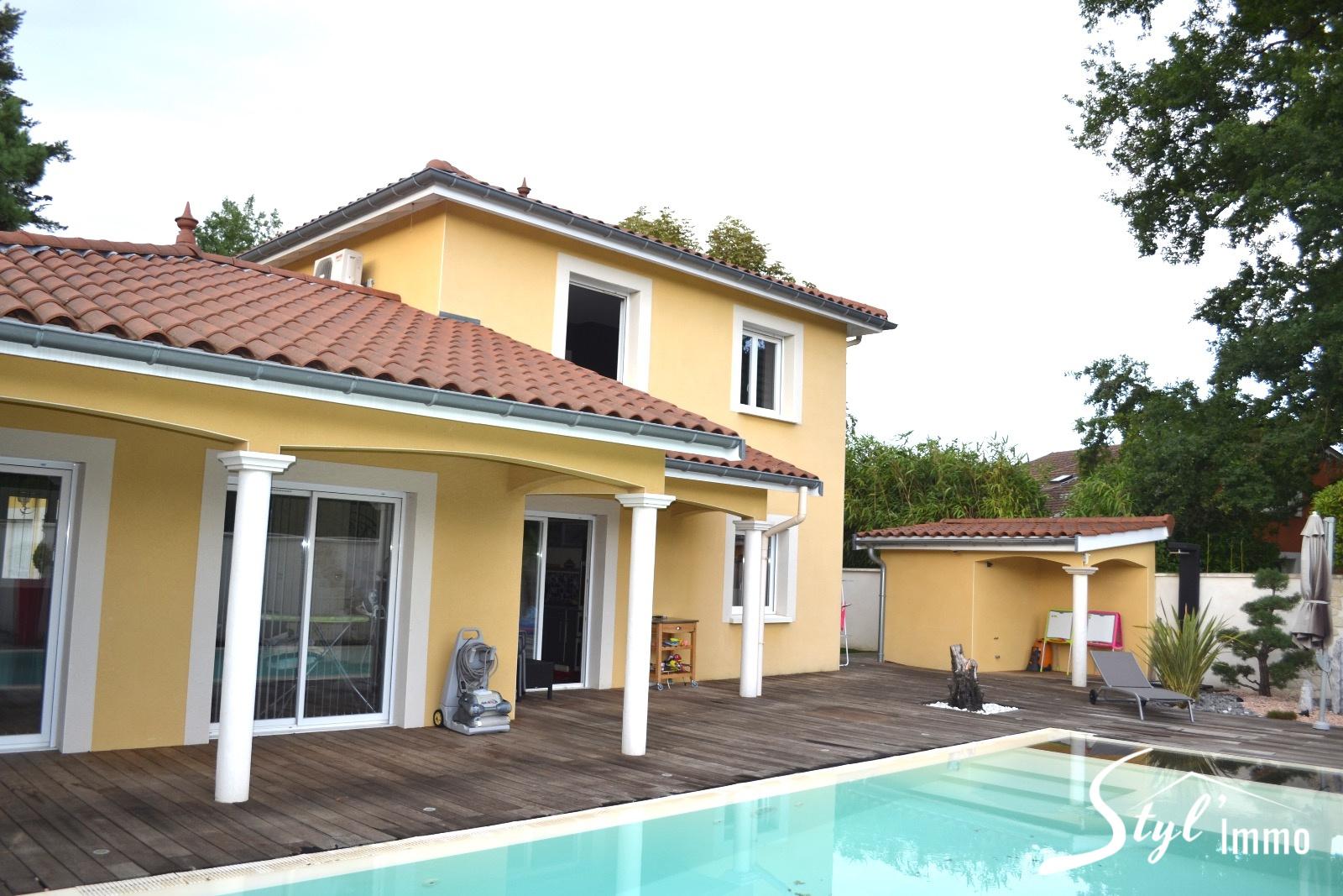 Annonce vente maison toussieu 69780 137 m 525 000 for Vente maison gresy sur aix