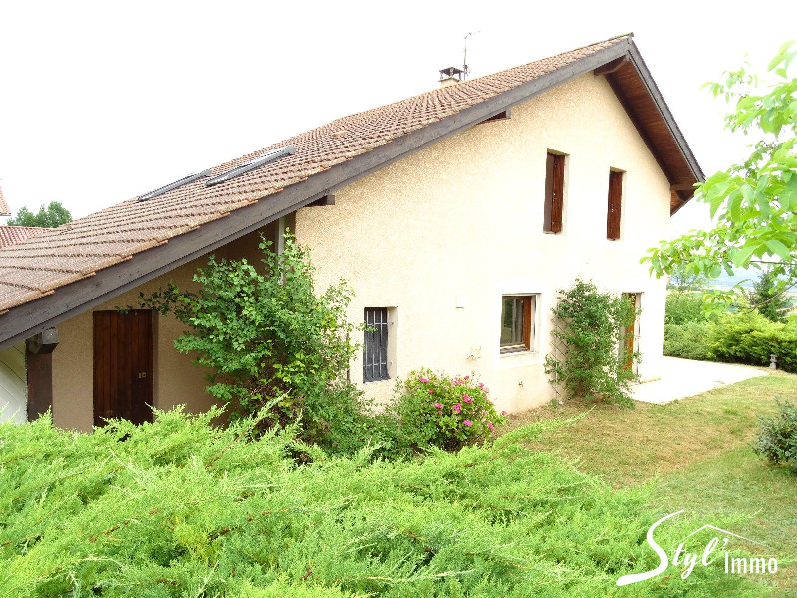 Annonce Vente Maison La C Te Saint Andr 38260 220 M