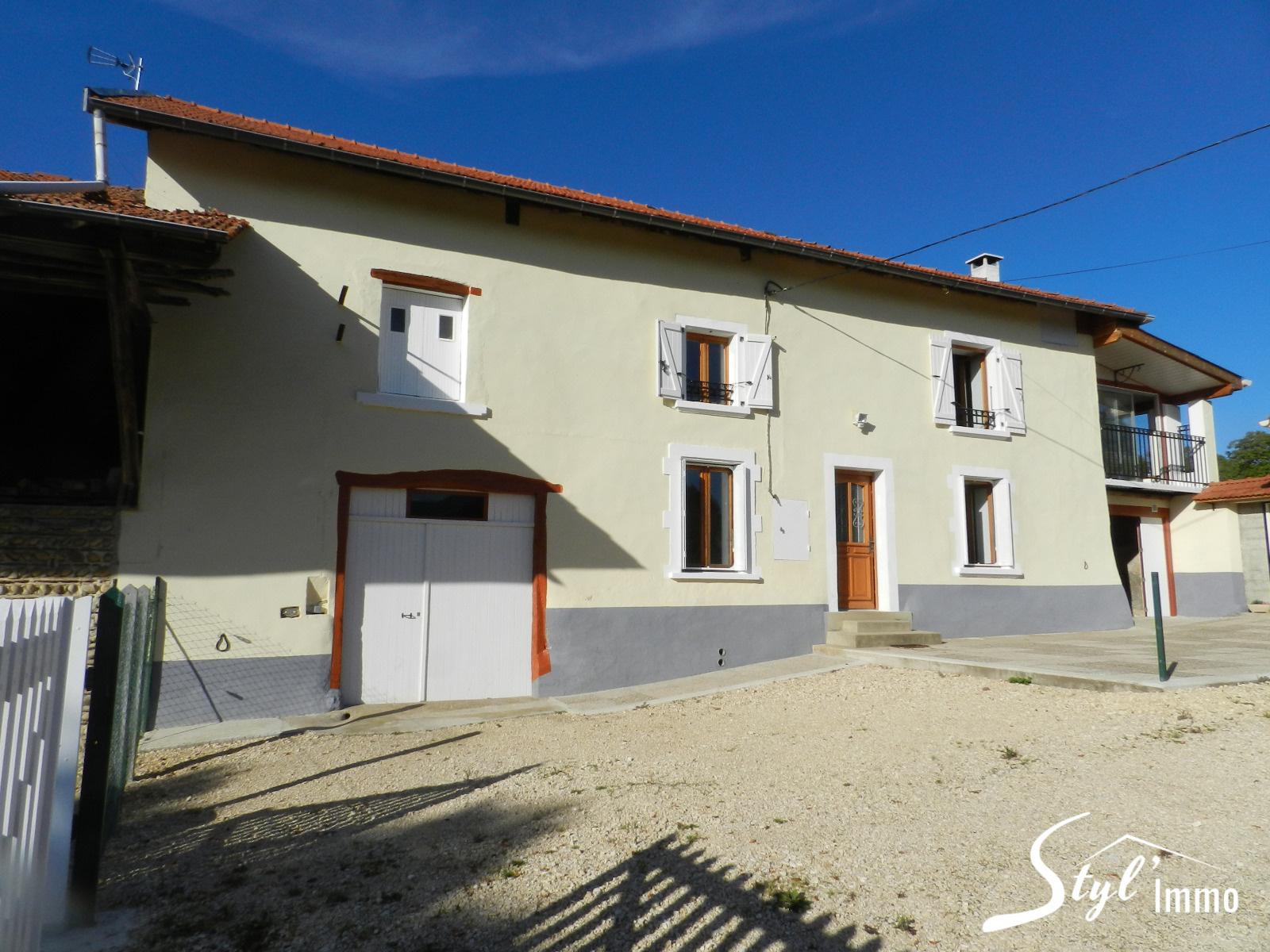 Annonce Vente Maison La C Te Saint Andr 38260 140 M